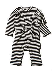 Goat-Milk Striped Romper