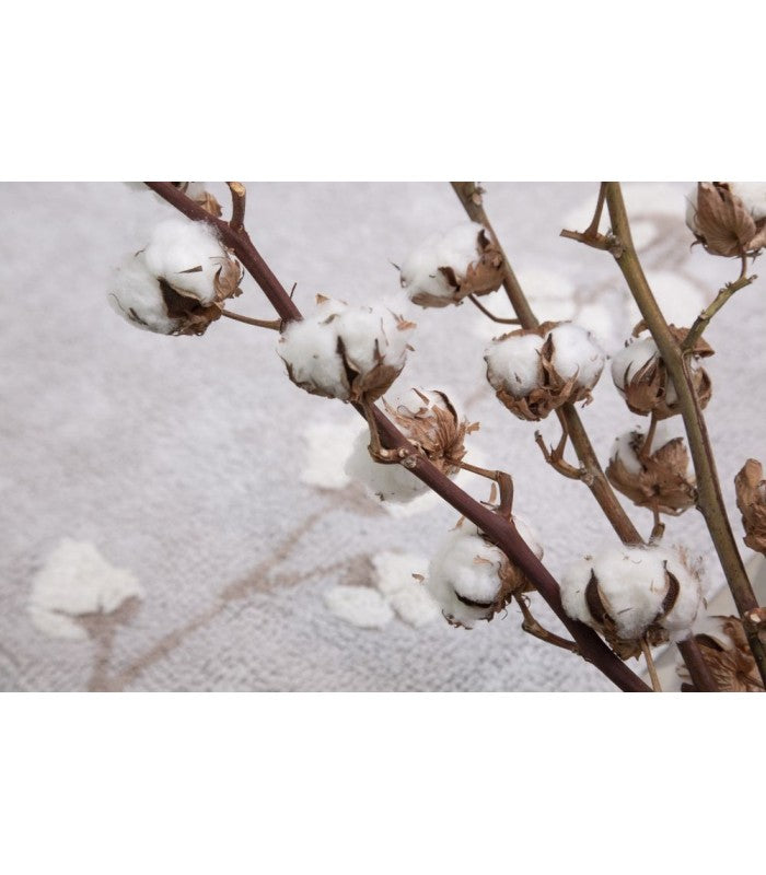 Lorena Canals Cotton Bolls Washable Rug
