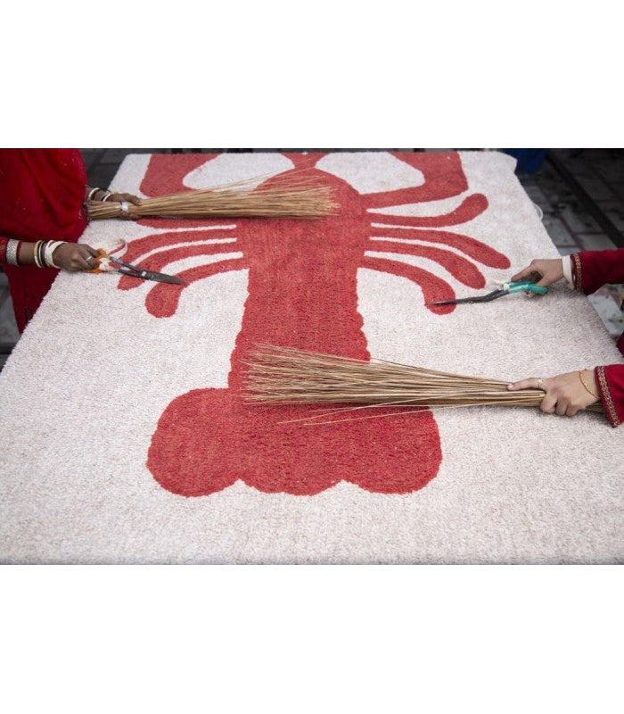 Lorena Canals Lobster Washable Rug