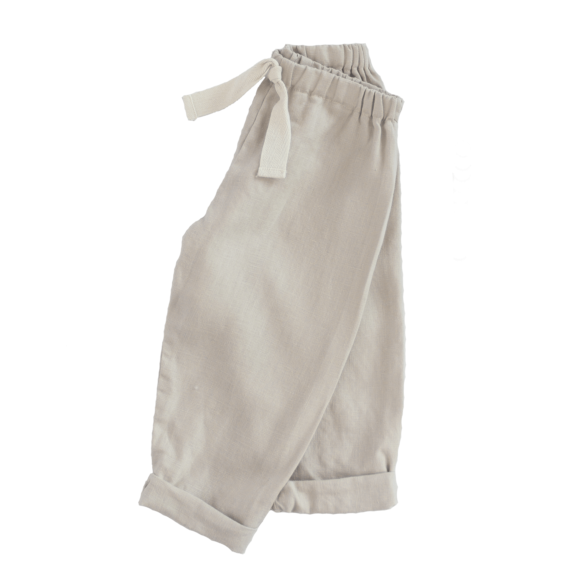 fawn&forest Tortoise & the Hare Linen Pants - Natural - fawn&forest