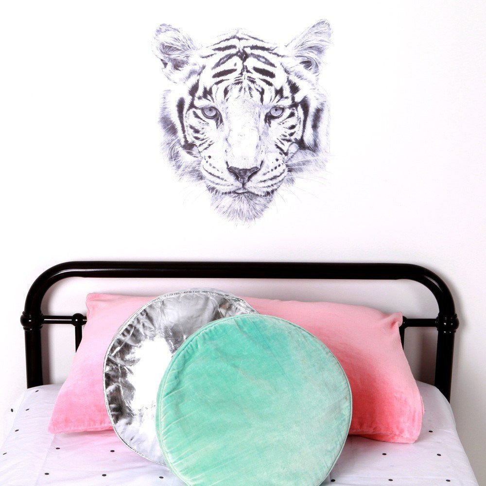 Love Mae Tiger Face Wall Decal - fawn&forest