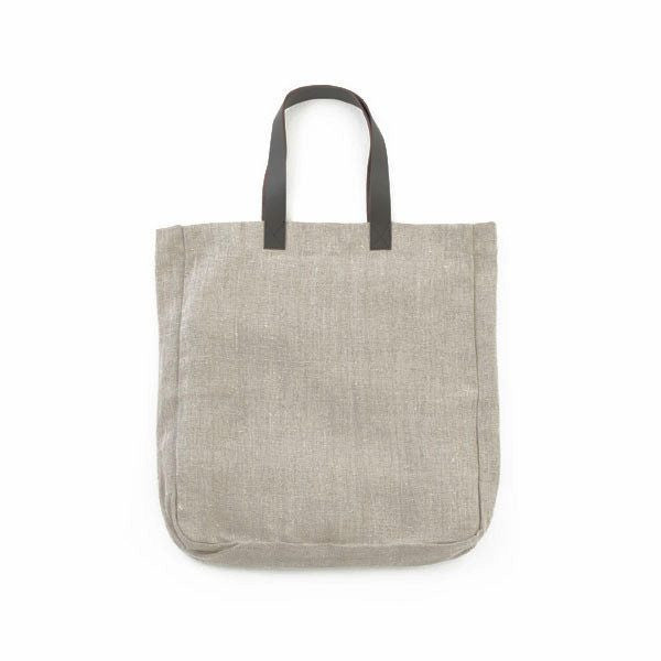 fawn&forest Fog Linen Tobol Tote - Natural Linen - fawn&forest