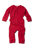 Goat-Milk Union Suit Ribbed