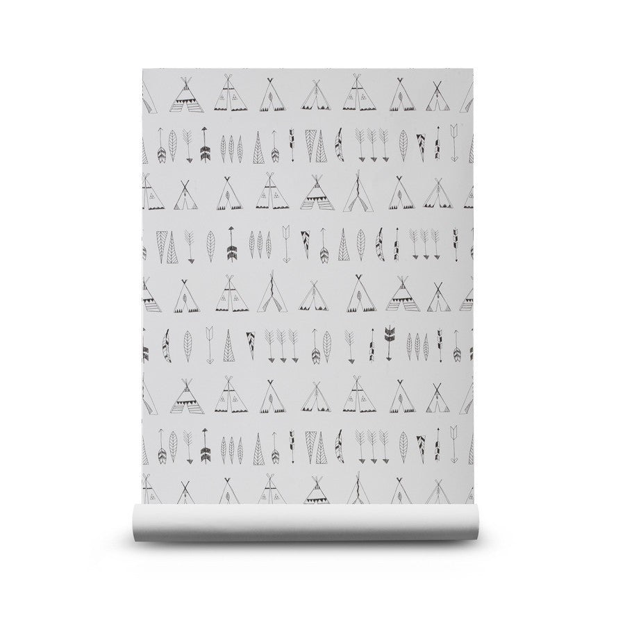 Ferm Living Ferm Living Native Wallpaper - fawn&forest