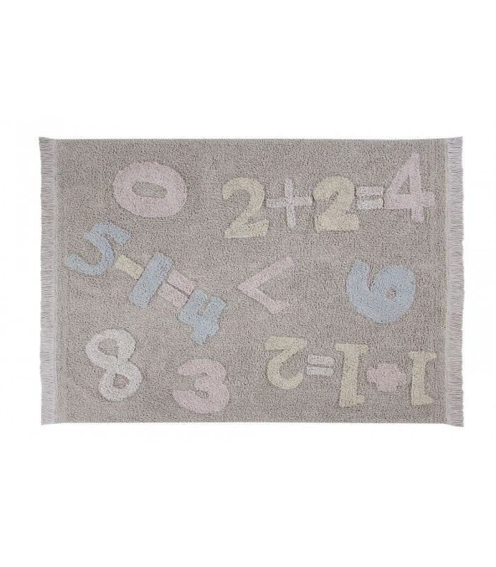 Lorena Canals Baby Numbers Washable Rug