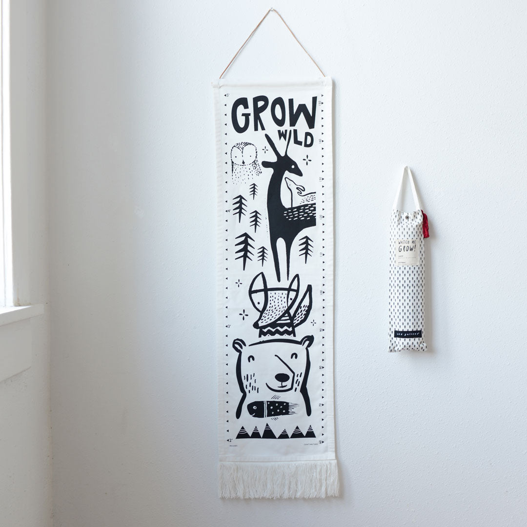 Wee Gallery Canvas Growth Chart