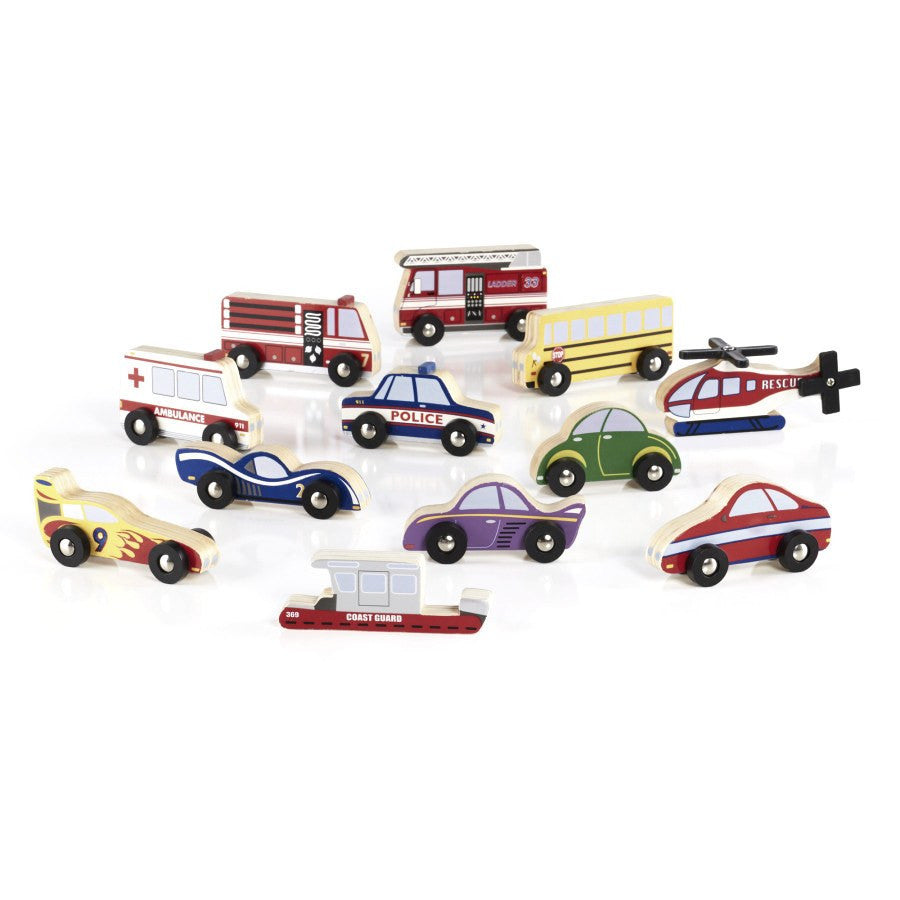 Guidecraft Wooden Vehicle Collection - fawn&forest