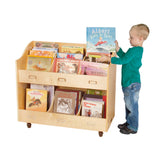 Guidecraft Mobile Book Organizer