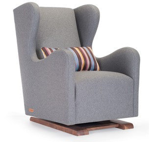 Monte Monte Vola Wool & Walnut Glider - fawn&forest