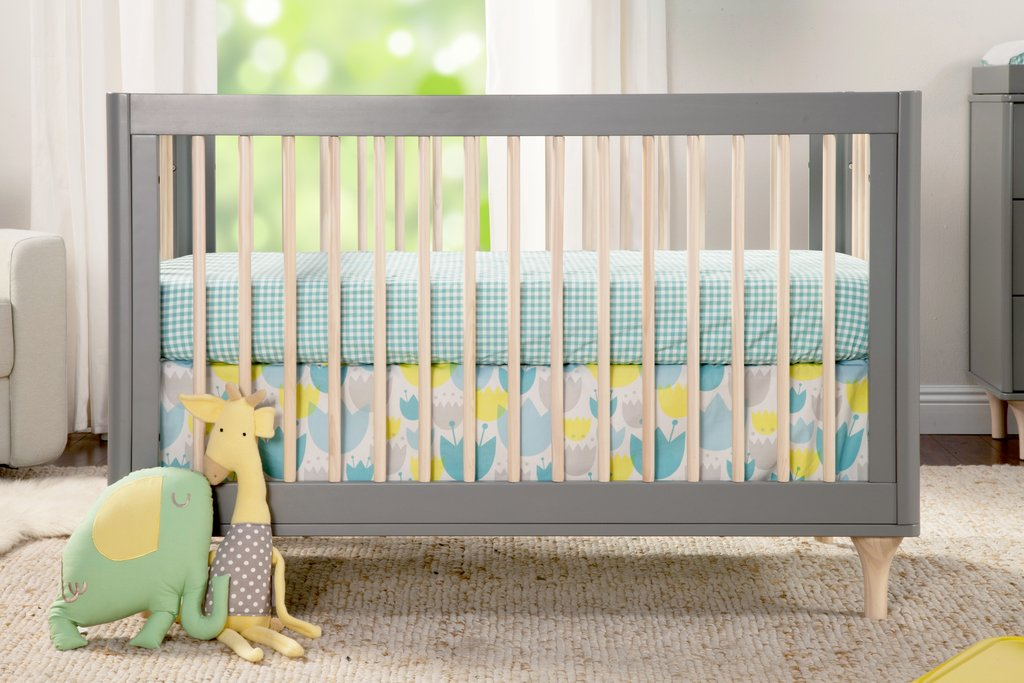 Babyletto Tulip Garden 5-piece Crib Bedding Set