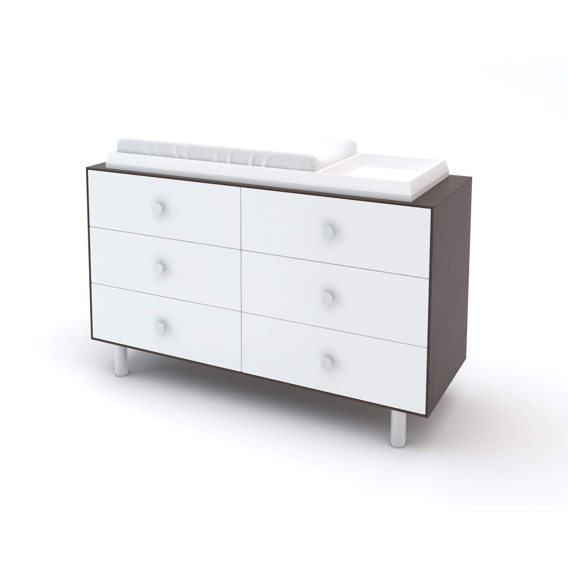 Oeuf Oeuf Merlin 6 Drawer Dresser - Sparrow Base - fawn&forest