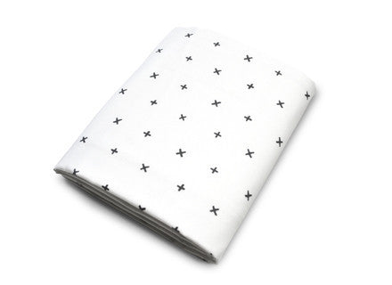 Olli + Lime Crib Sheets - Dot