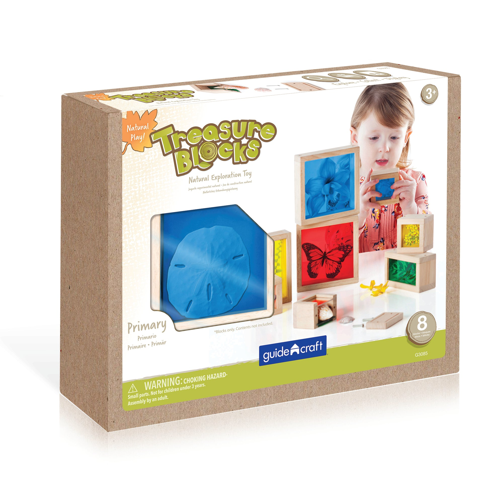 Guidecraft Treasure Blocks - Primary