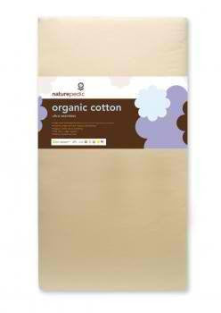 Naturepedic Naturepedic Organic Cotton Ultra 252 Seamless Crib Mattress - fawn&forest
