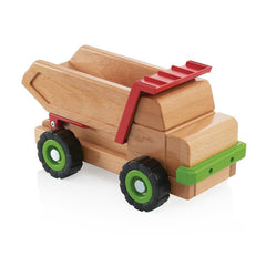 Guidecraft Bigblock Dump Truck - fawn&forest