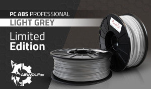 PC ABS Professional Light Grey Filament