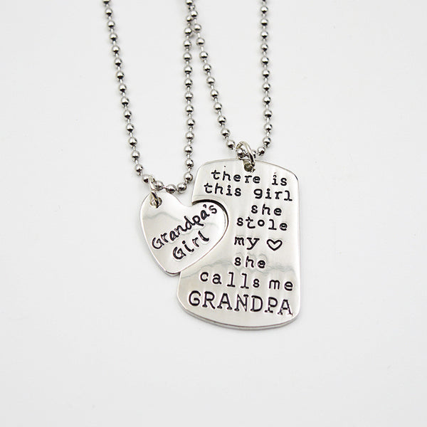 Grandpa's Little girl Pendant
