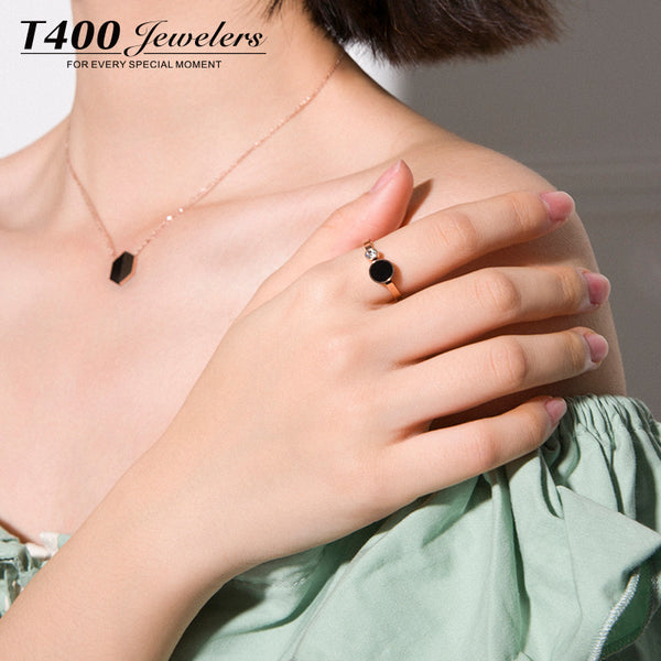 2017 New Arrival!Cheapest Rings at T400 Store! #4525 Female Index Finger Ring,Simple Creative Rose Pink Fashion Ring Jewelry