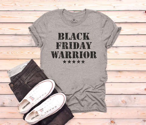 Black Friday Warrior unisex shirt