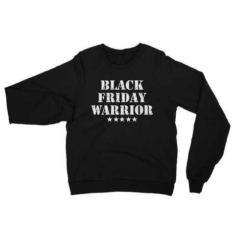 Black Friday Warrior crewneck