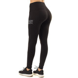 Premium Black Breezy High-Waist Leggings