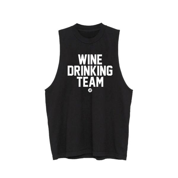 Wine Drinking Team Muscle Tank
