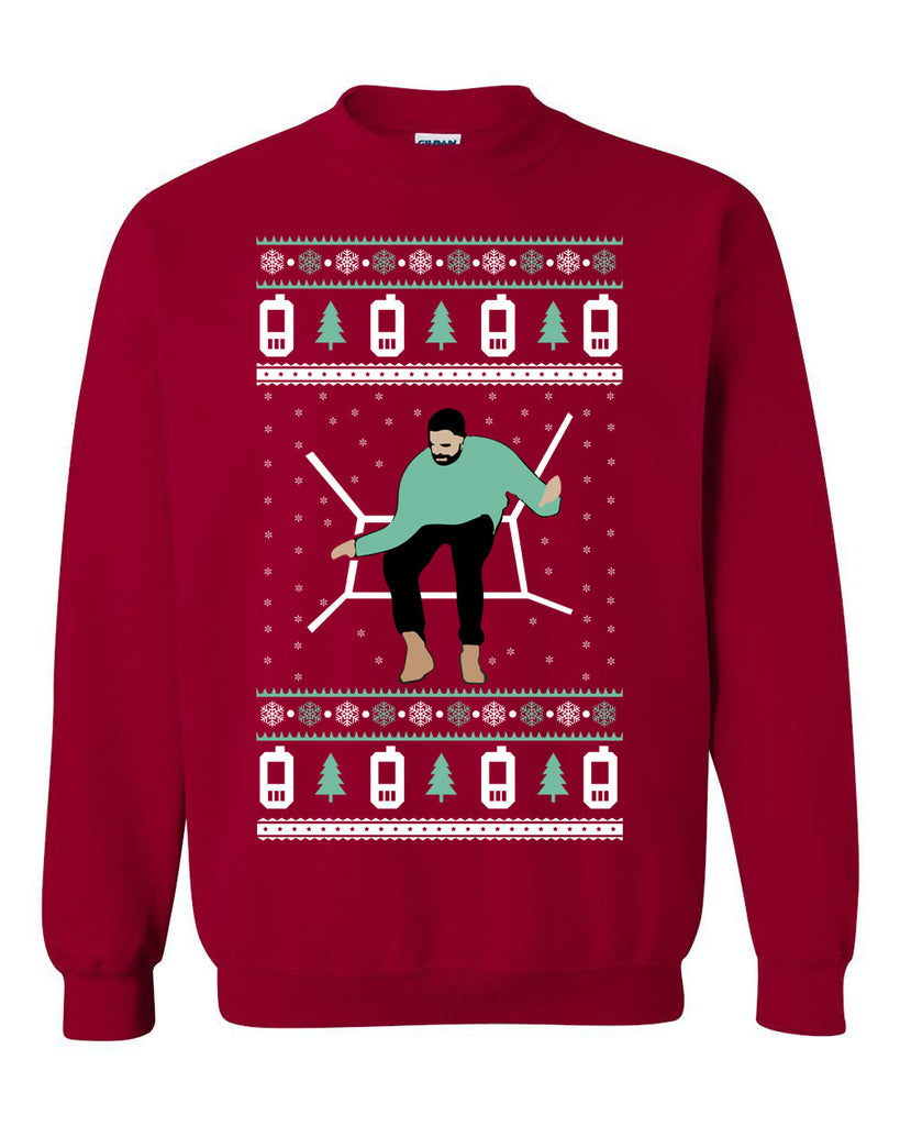Drake Ugly Christmas Sweater crewneck