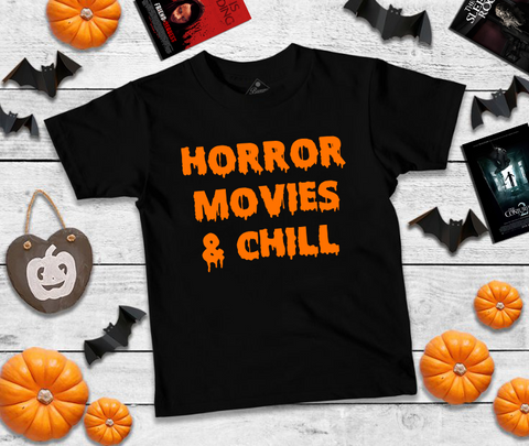 Horror Movies and Chill Unisex Tee