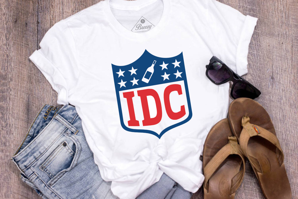 IDC i dont care unisex tee