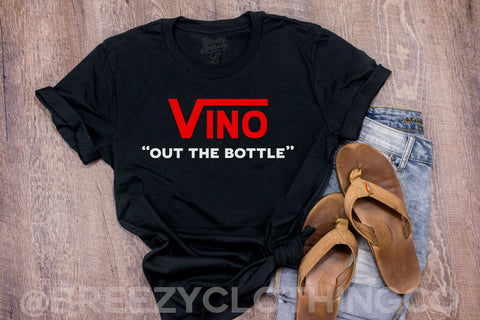 "VINO ""OUT THE BOTTLE"" LIMITED EDITION Unisex Tee"