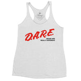 DARE drugs are really expensive racerback tanktop