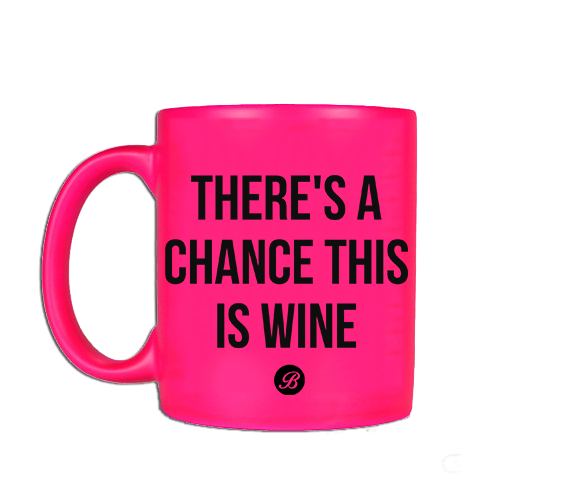 Pink Wine Coffee Mug