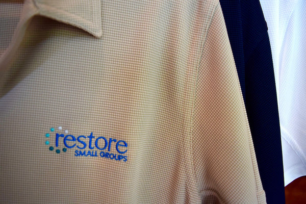 Restore Logo Polo - NOW 50% off!