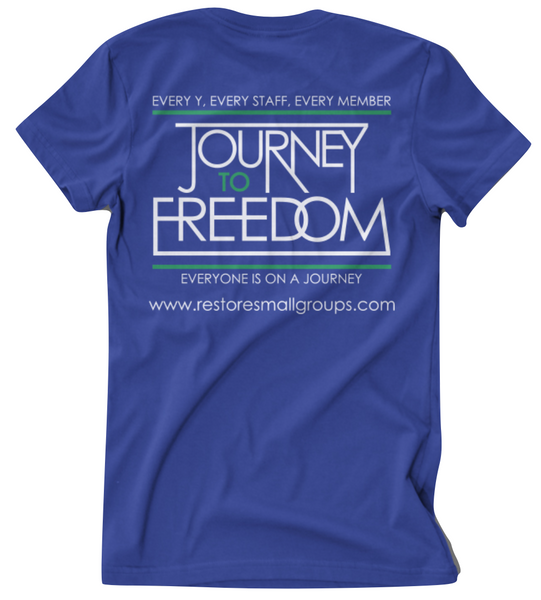 Blue Journey T-Shirt - YMCA