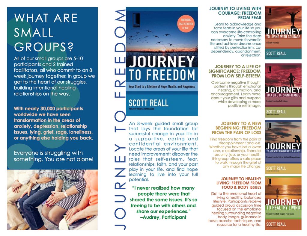 Journey to Freedom Brochure