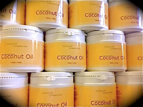 coconut oil tubs