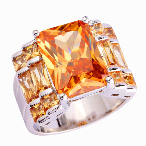 Champagne Morganite Ring - Sacred Motivation