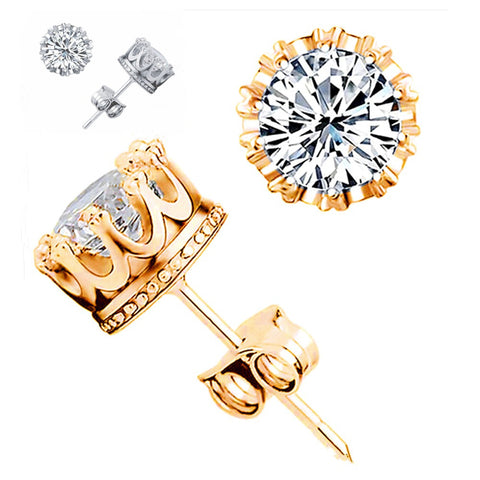 CZ Stud Earrings~AAA quality - Sacred Motivation - 1