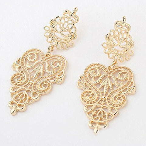 Filigree Bohemian Earrings - Sacred Motivation - 1
