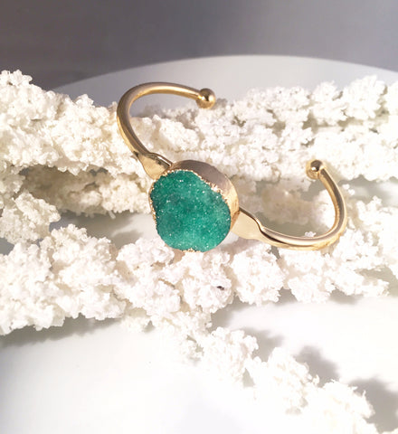 Druzy Bangle - Sacred Motivation - 1