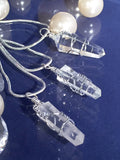 Clear Quartz necklace~small - Sacred Motivation - 2