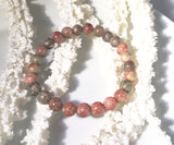 Autumn Jasper Bracelet - Sacred Motivation - 4