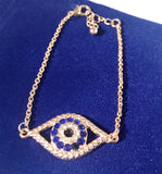 Blue Evil Eye~Bracelet - Sacred Motivation - 3