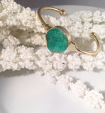 Druzy Bangle - Sacred Motivation - 2