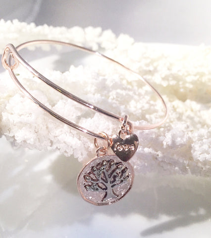 Tree of Life Bangle - Sacred Motivation - 1