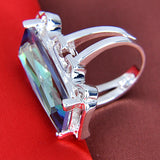 Rainbow Mystic Topaz Ring - Sacred Motivation - 2