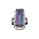 Rainbow Mystic Topaz Ring - Sacred Motivation - 1