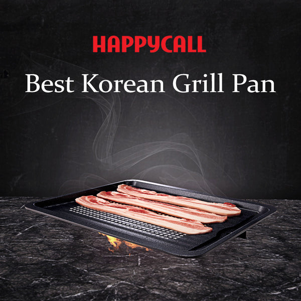 [2017 Best Korean Grill Pan] Happycall Korean BBQ Grill Pan