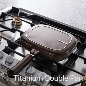 Titanium Double Pan