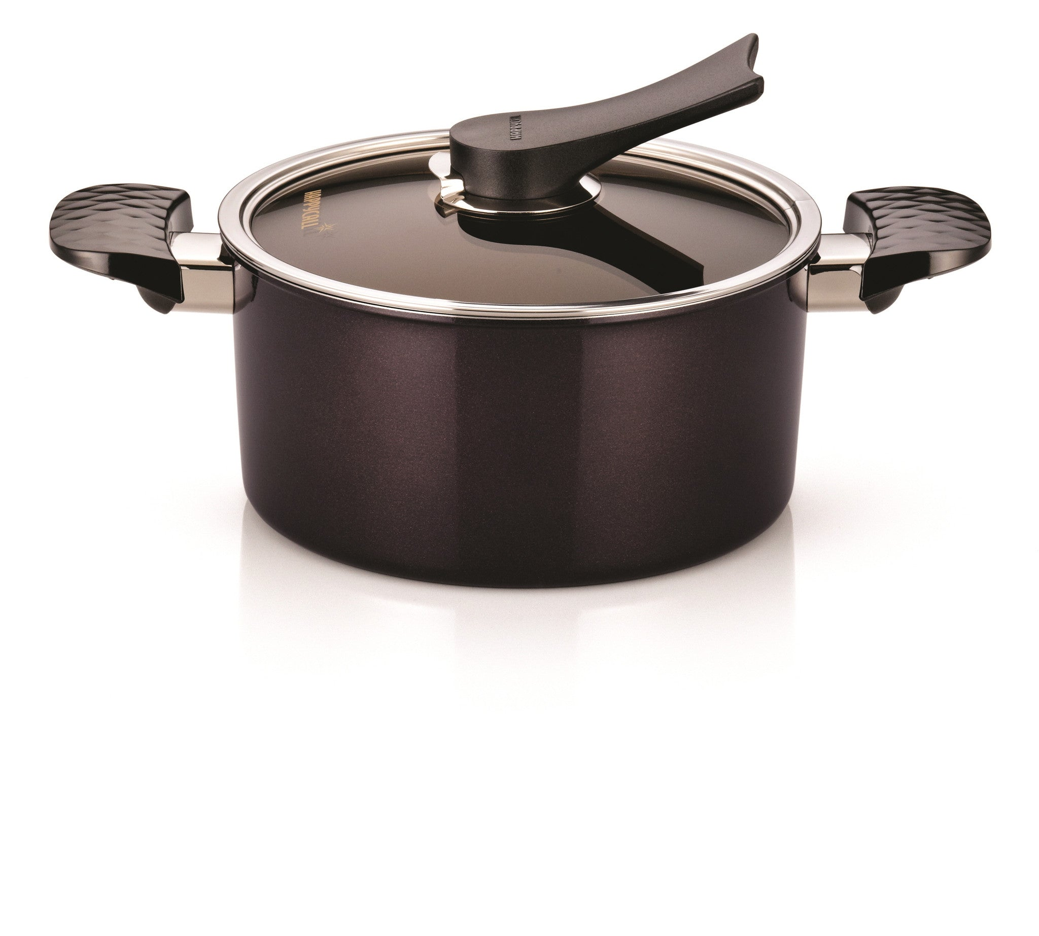 Happycall 3qt Diamond Nonstick Pot Sauce Pot Happycall Usa